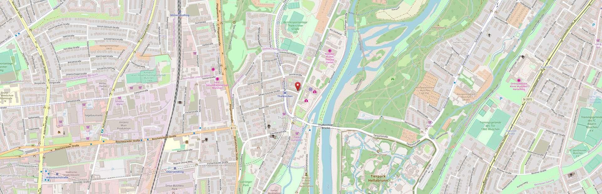 Ristorante & Pizzeria Rosa dei Venti - Schäftlarnstraße 166